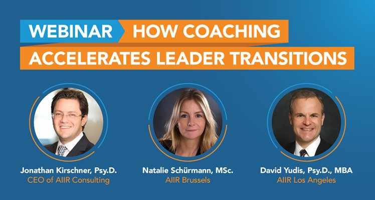 Webinar: How Coaching Accelerates Leader Transitions