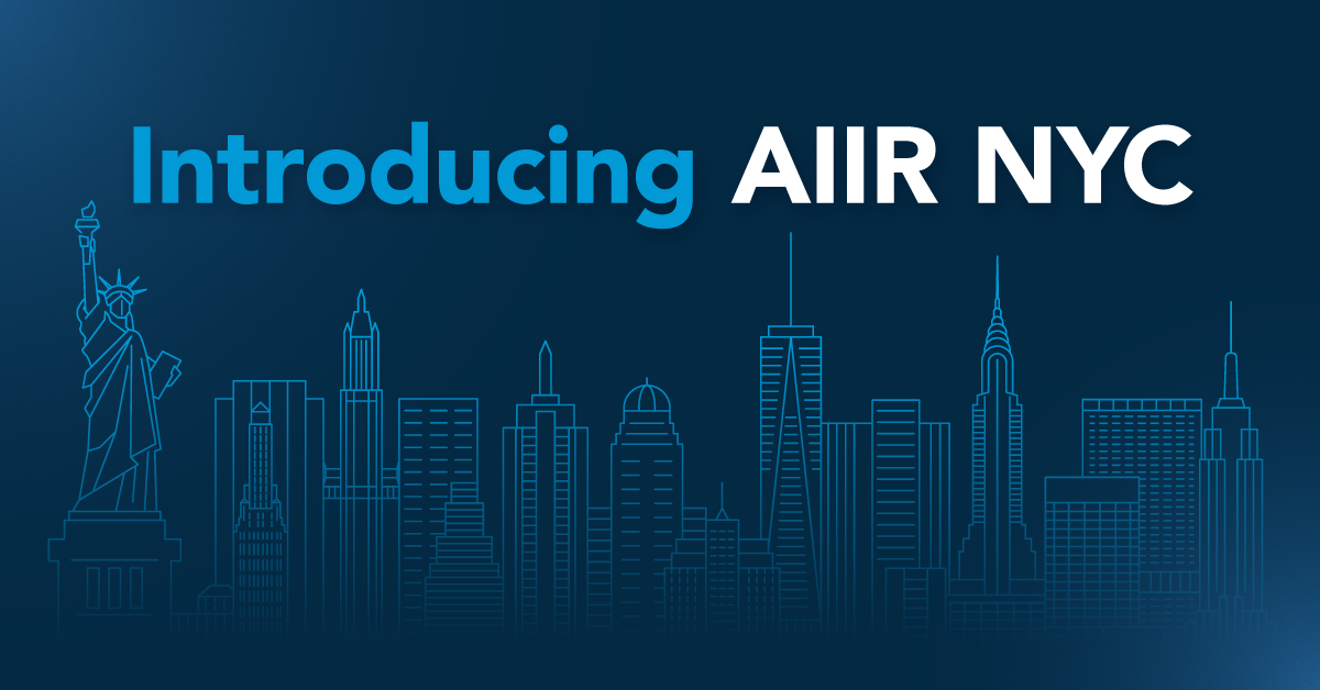 AIIR announces new office in NYC