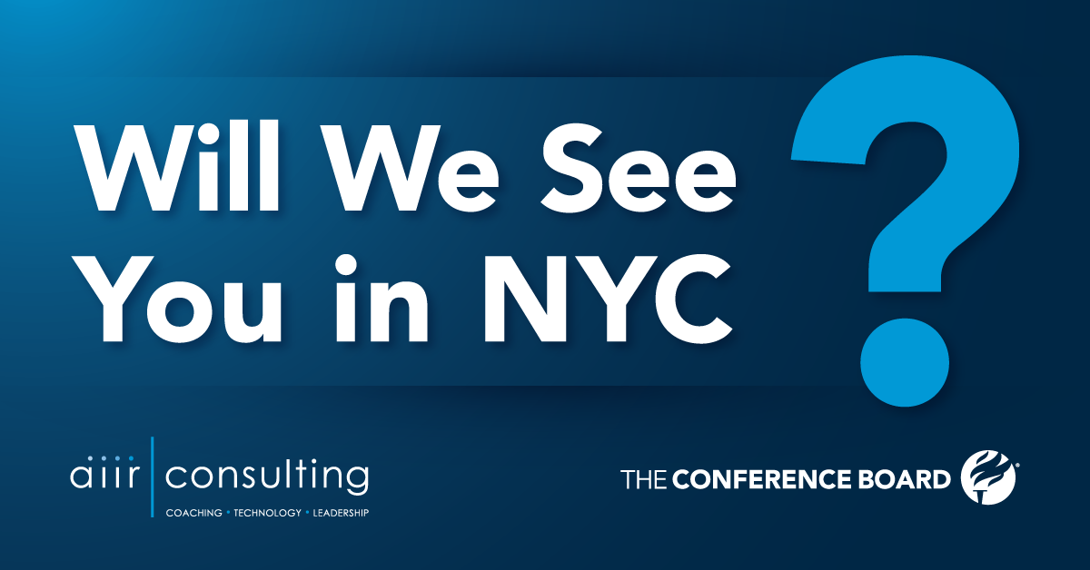 Will we see you in NYC?