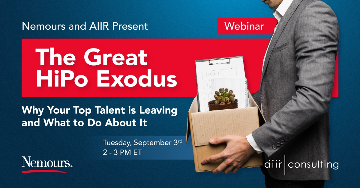 [Webinar] The Great HiPo Exodus: Why Your Top Talent is Leaving and What to Do About It