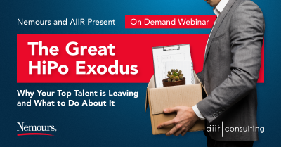 [On Demand Webinar] The Great HiPo Exodus: Why Your Top Talent is Leaving and What to Do About It