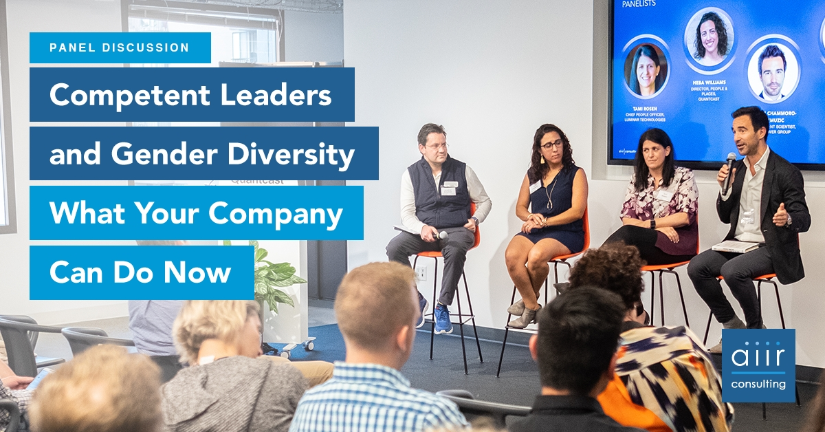 Competent Leaders and Gender Diversity: What Your Company Can Do Now