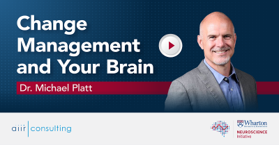 [Video] Change Management and Your Brain