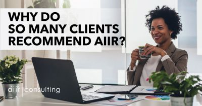 Why Do So Many Executive Coaching Clients Recommend AIIR?