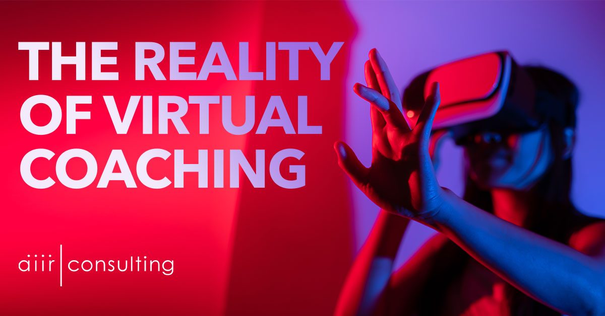 The Reality of Virtual Coaching