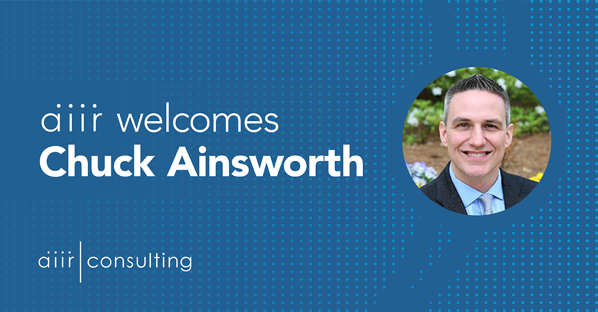 AIIR Welcomes Chuck Ainsworth as Strategic Advisor