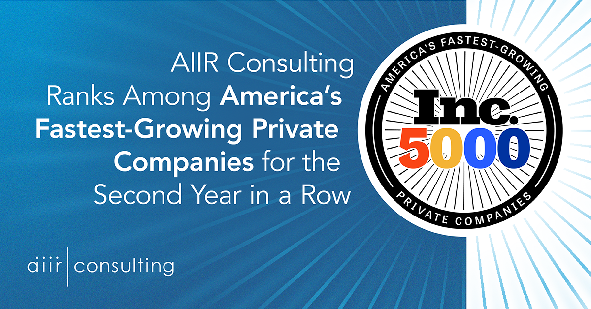 AIIR Named to Inc. 5000