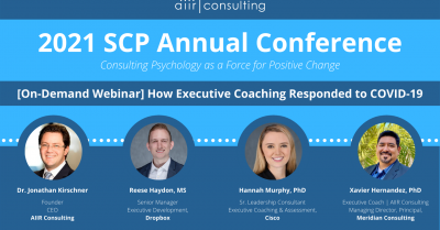 [On Demand Webinar] How Executive Coaching Responded to COVID-19