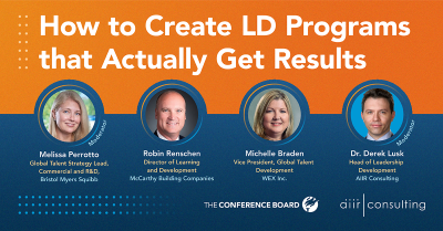 [On Demand Webinar] The Conference Board: How to Create LD Programs that Actually Get Results