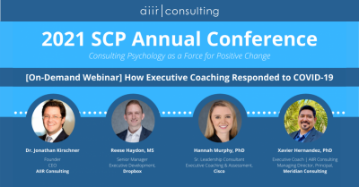 How Executive Coaching Responded to COVID-19