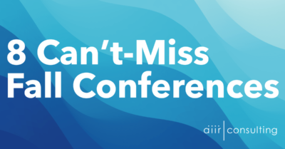 8 Can't Miss Fall Conferences